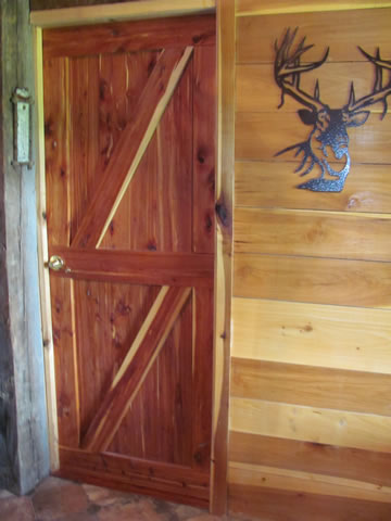Interior Cedar Log Doors & Interior Cedar Log Doors By Cedar Bluff Furniture